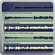 audio tracks during mixdown