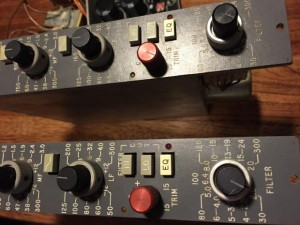 Quad Eight EQ 333 C mastering equalizer