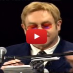 Elton John demonstrates his songwriting abilities