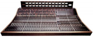 Trident A Range mixing console