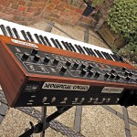 Prophet 5 - a great analog synthesizer from the eighties