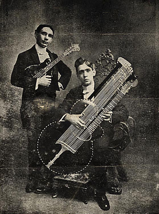 The string history of guitar - Gibson 1903