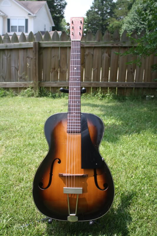 1935-1941, Martin archtop