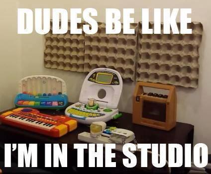 tips on recording music - in the studio