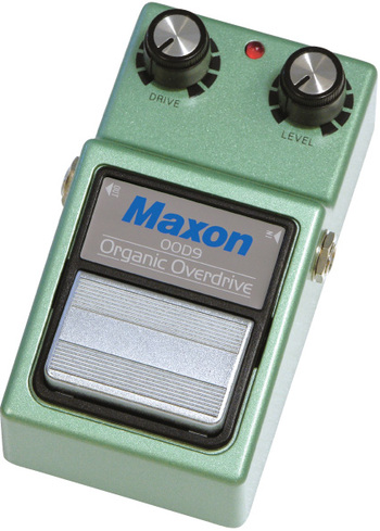 the Maxon OOD9 is indeed an Organic Overdrive pedal