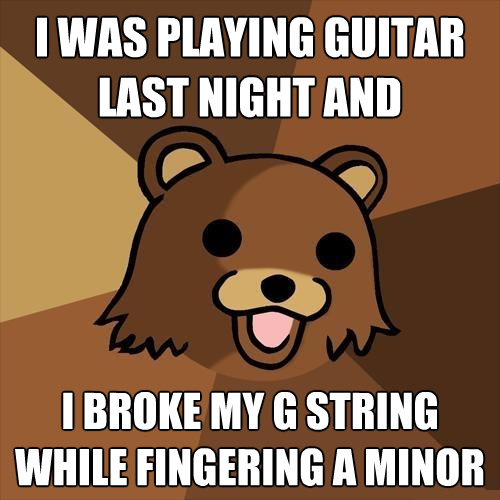 fingering A minor - always a good idea