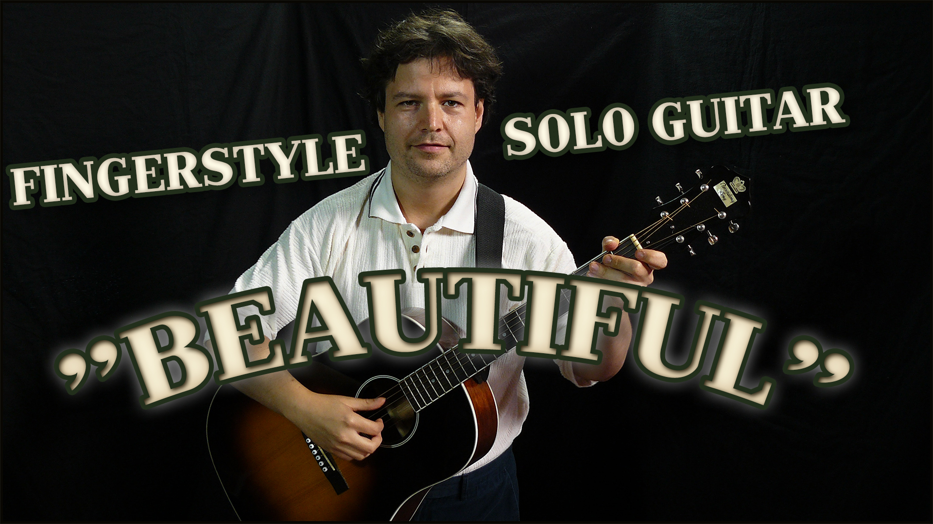 beautiful - solo fingerstyle bluegrass guitar