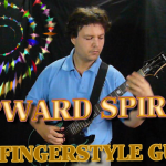"Solo Polyphonic Fingerstyle Guitar - ""Upward Spiral"""
