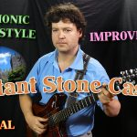 "Fingerstyle Medieval Guitar Music - ""Distant Stone Castle"" - Polyphonic Free Jazz Improvisation 13"