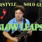 "Solo Fingerstyle Polyphonic Acoustic Guitar - ""Slow Leaps"""