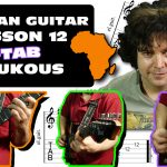 african soukous guitar lesson + tab - 12