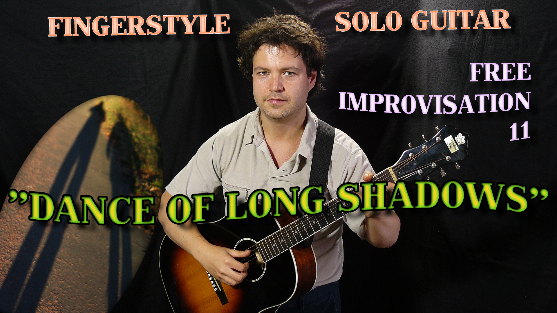 dance of long shadows - polyphonic solo acoustic jazz guitar