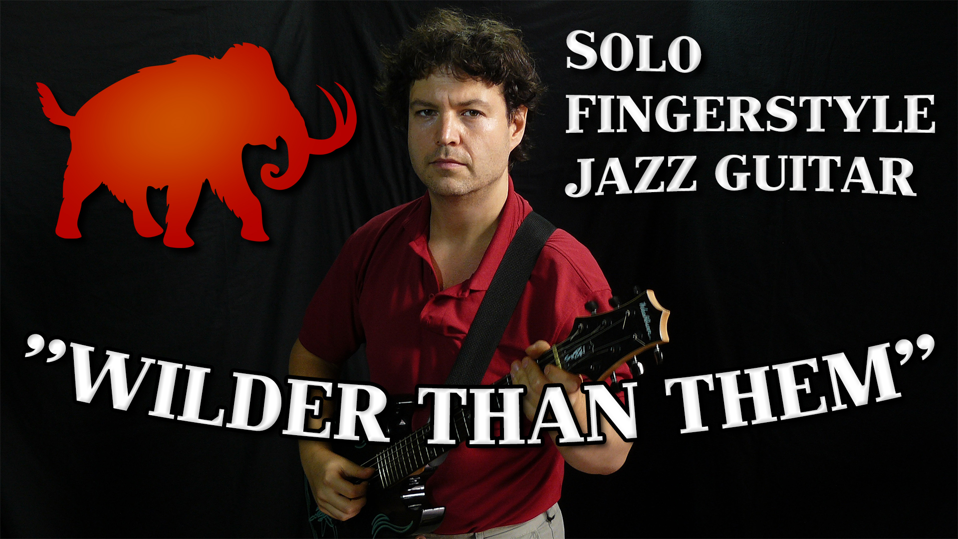 solo fingerstyle jazz guitar - wilder than them