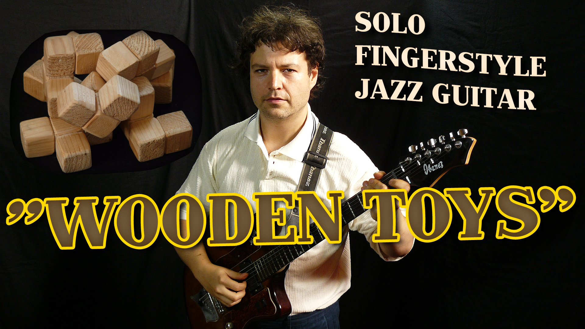 solo fingerstyle jazz guitar wooden toys