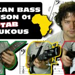 african bass lesson 01 - soukous TAB