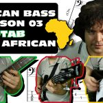 west african bass guitar lesson 03 thumbpick