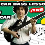 west african assouf bass lesson with tab 06
