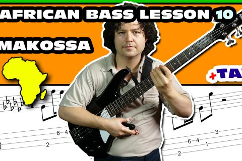 african makossa bass lesson and tab - 10