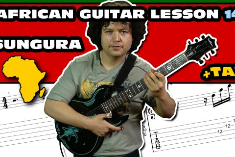 african sungura guitar lesson with tab 14