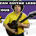 african 6/8 time soukous guitar lesson with tab 15
