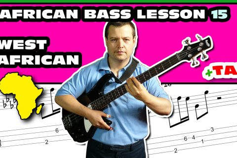 dry & hard - west african bass lesson 15
