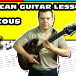 african soukous guitar tutorial with fingerstyle tab 21