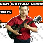african soukous guitar lesson 22 come without shoes