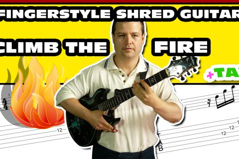 80s fingerstyle shred guitar with tab download