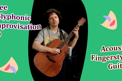 free improvisation guitar acoustic fingerstyle